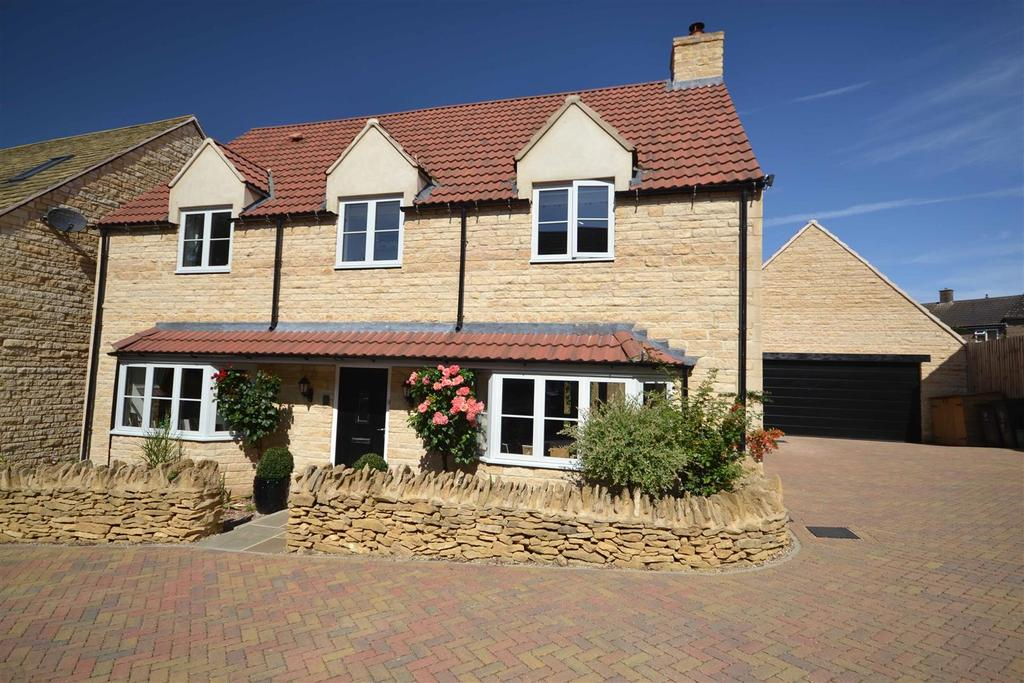 4 Bedrooms Detached House for sale in Field Close, Collyweston, Stamford