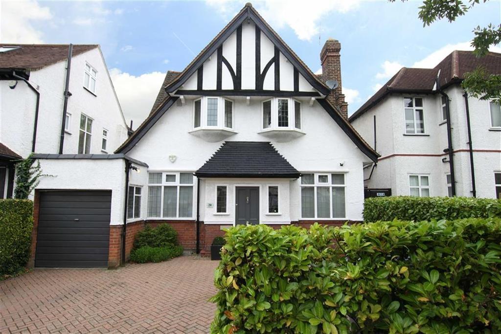 4 Bedrooms Detached House for sale in Goodwyn Avenue, Mill Hill, London