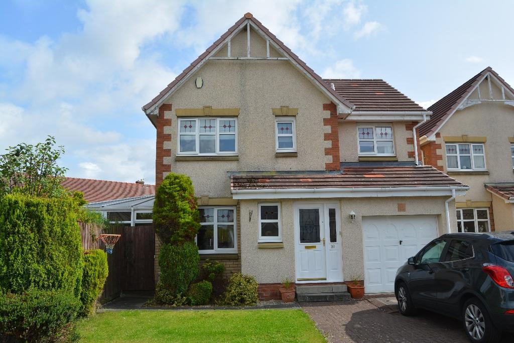 4 Bedrooms Detached House for sale in Halkett Crescent, Carronshore, Falkirk, FK2 8FB