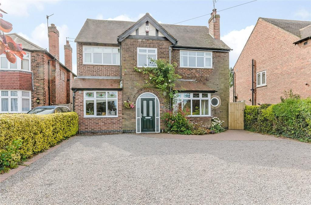 4 Bedrooms Detached House for sale in Bingham Road, Radcliffe-on-Trent, Nottingham, NG12