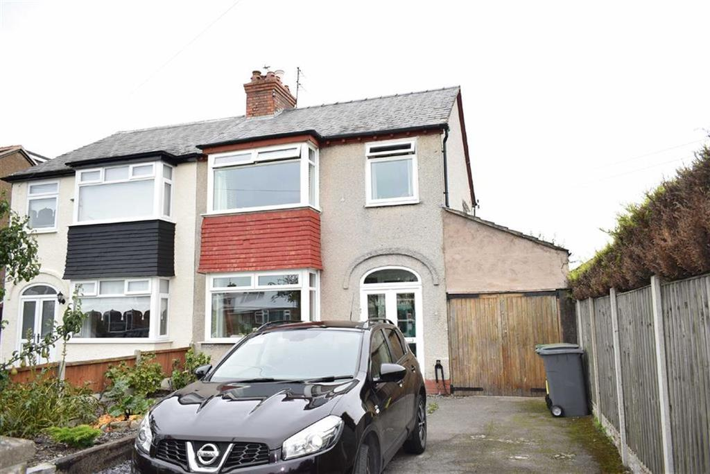 3 Bedrooms Semi Detached House for sale in Saughall Road, CH46