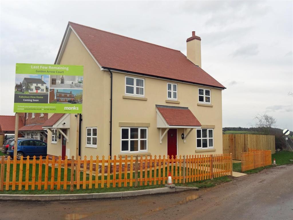 4 Bedrooms Detached House for sale in Golden Arrow Court, Longden, Shrewsbury