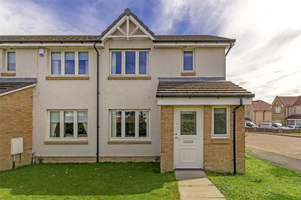 3 Bedrooms End Of Terrace House for sale in 23 Bathlin Crescent, Moodiesburn, Glasgow, G69