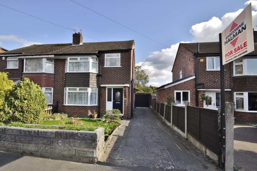3 Bedrooms Semi Detached House for sale in Gill Bent Road, Cheadle Hulme,