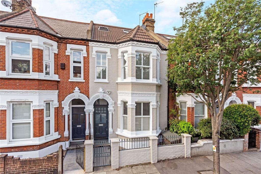 5 Bedrooms Terraced House for sale in Quarry Road, Wandsworth, London, SW18