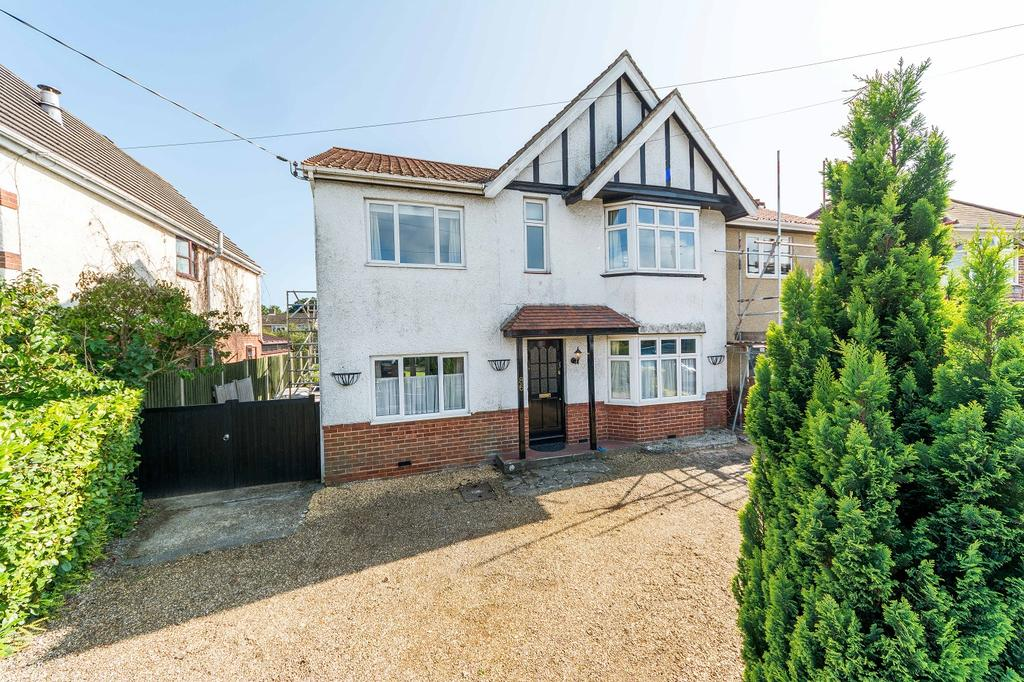 4 Bedrooms Semi Detached House for sale in Station Road, Netley Abbey, Southampton SO31