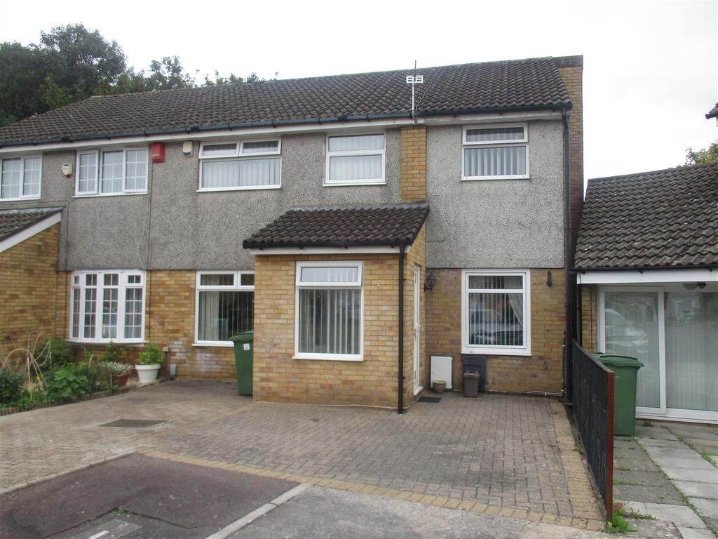 4 Bedrooms Semi Detached House for sale in Aintree Drive, Lower Ely, Cardiff