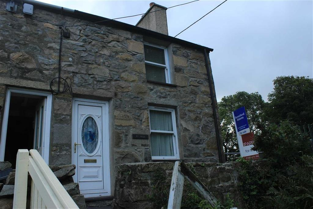 2 Bedrooms Terraced House for sale in Green Terrace, Trefor, Gwynedd