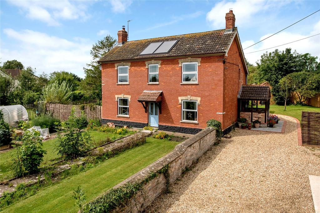 4 Bedrooms Detached House for sale in Woodhill, Stoke St. Gregory, Taunton, Somerset