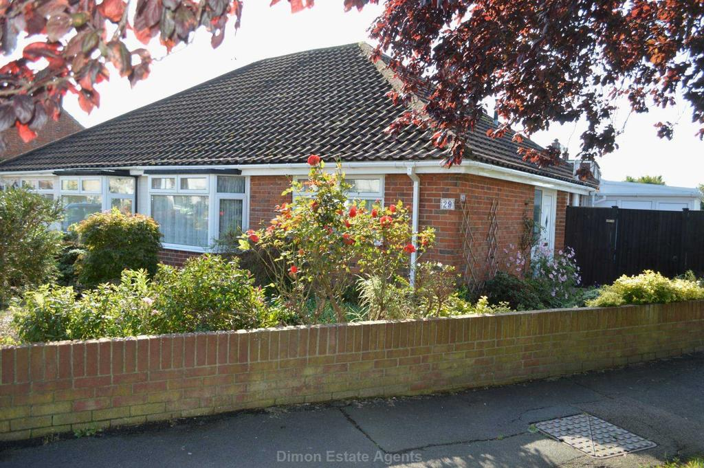 2 Bedrooms Semi Detached Bungalow for sale in Brookers Lane, Gosport