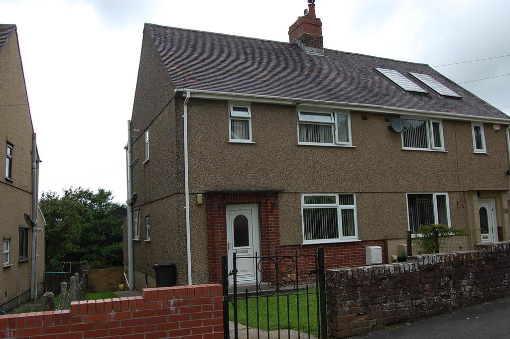 2 Bedrooms Semi Detached House for sale in Derwydd Avenue, Gwaun Cae Gurwen, Ammanford