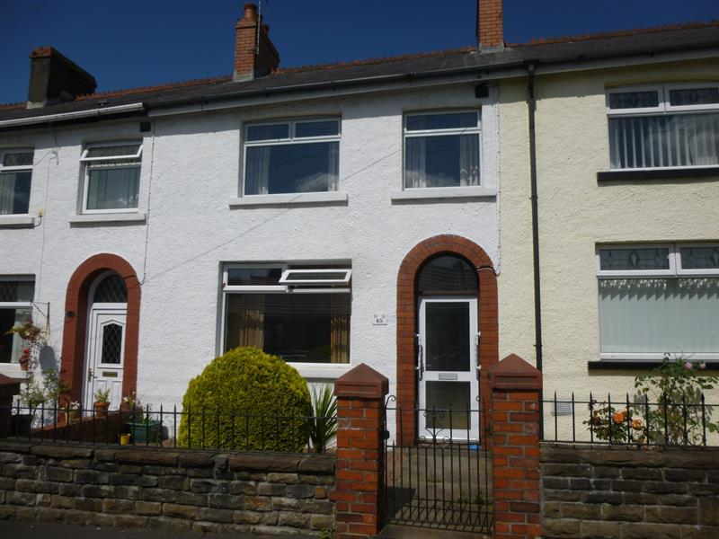 2 Bedrooms Terraced House for sale in Glebe Street, Bedwas, Caerphilly