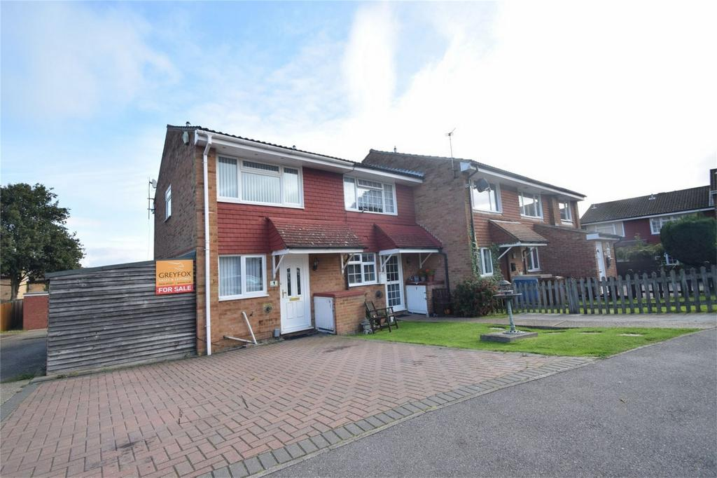 2 Bedrooms End Of Terrace House for sale in Bentley Close, Lordswood, Kent