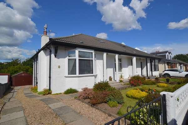 3 Bedrooms Semi Detached Bungalow for sale in 59 Kingslynn Drive, Glasgow, G44 4JB