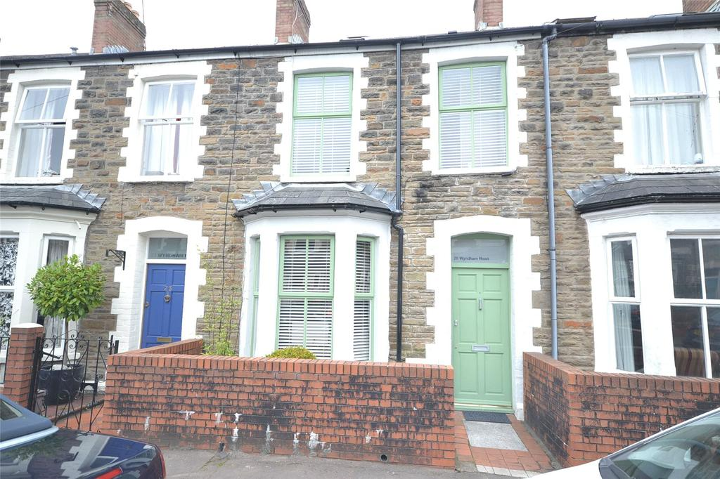 4 Bedrooms Terraced House for sale in Wyndham Road, Pontcanna, Cardiff, CF11