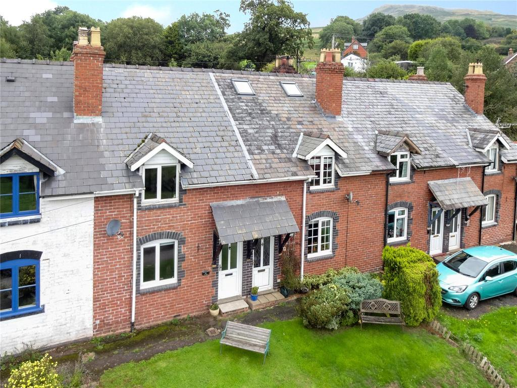 2 Bedrooms Terraced House for sale in Titterstone Cottages, Clee Hill, Ludlow, Shropshire