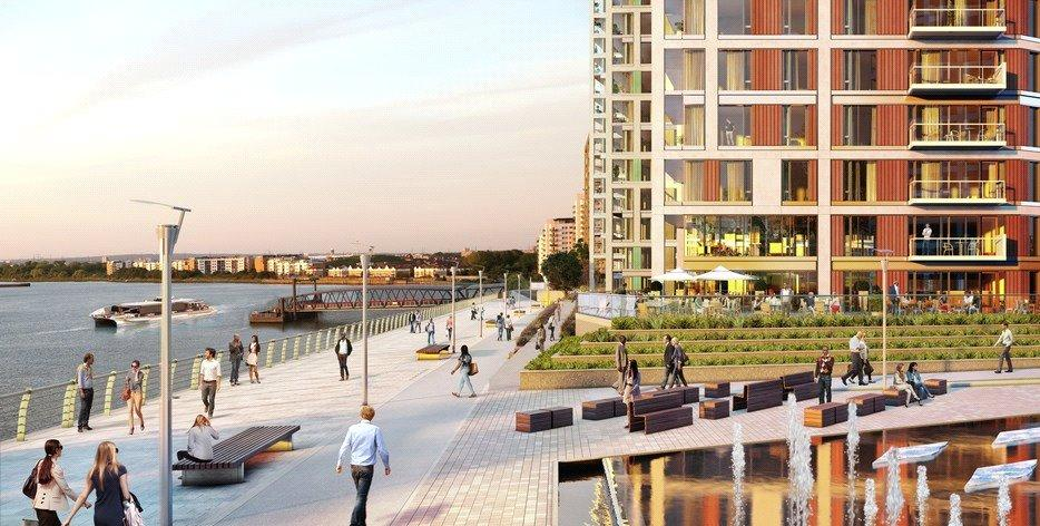 2 Bedrooms Flat for sale in Royal Arsenal, Woolwich, London, SE18