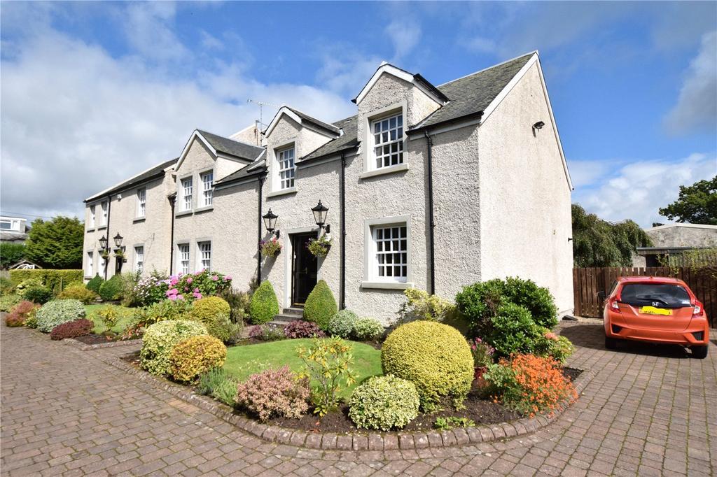 4 Bedrooms Semi Detached House for sale in Polnoon Mews, Eaglesham, Glasgow, Lanarkshire