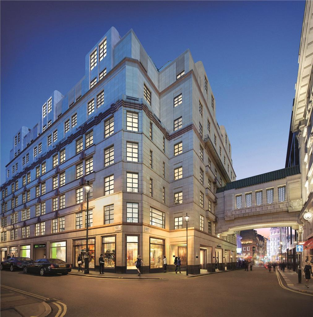 3 Bedrooms Apartment Flat for sale in Sherwood Street, London, W1F