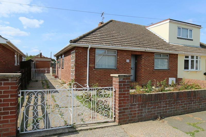 3 Bedrooms Semi Detached Bungalow for sale in Highland Way, Lowestoft
