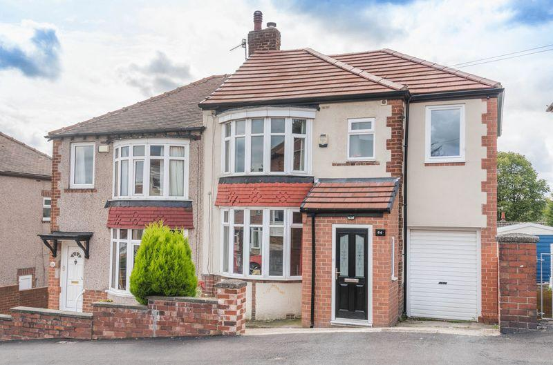 3 Bedrooms Semi Detached House for sale in Lyminster Road, Wadsley Bridge, S6 1HX - Effectively Extended Family Home