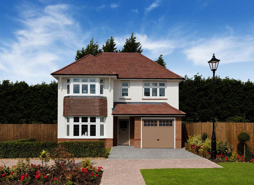 4 Bedrooms Detached House for sale in The Oxford, Moorland Reach