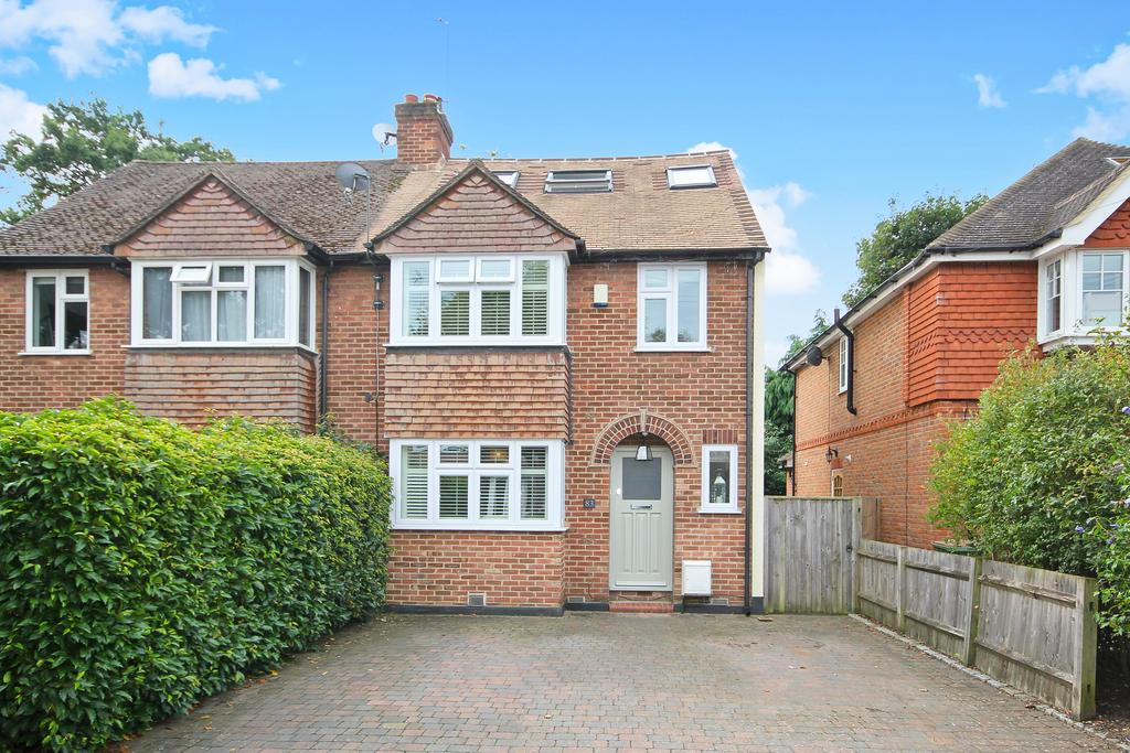 4 Bedrooms Semi Detached House for sale in Westcar Lane, HERSHAM, WALTON ON THAMES KT12