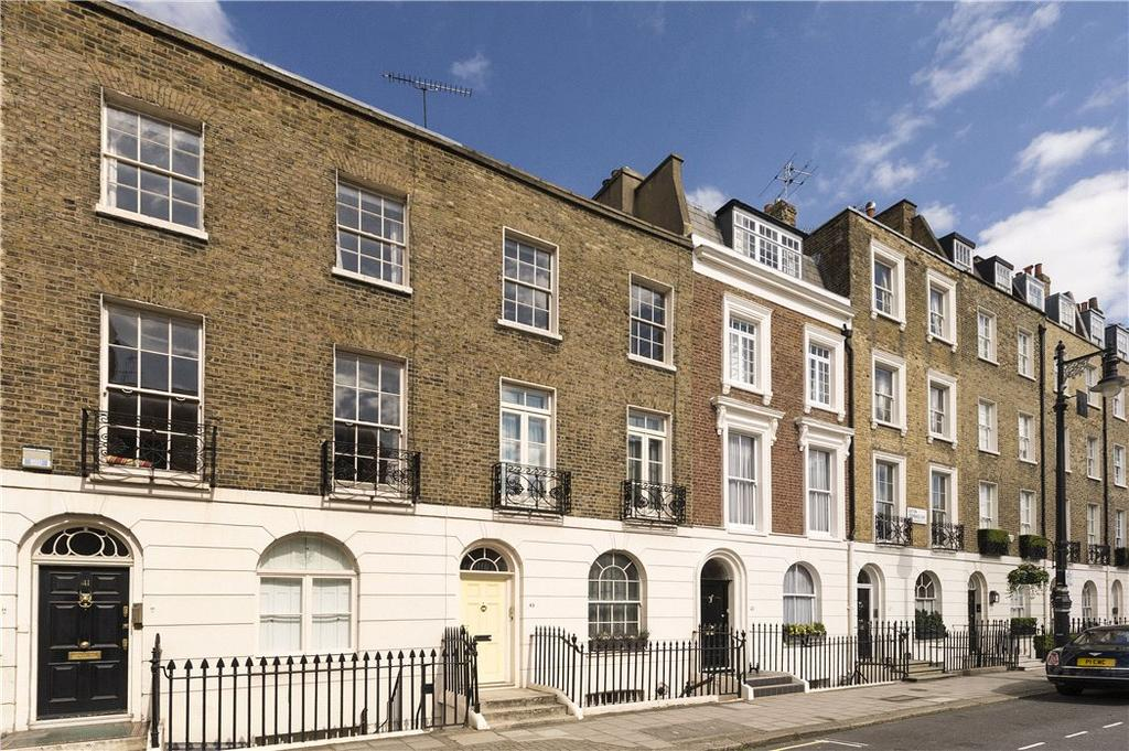 3 Bedrooms Terraced House for sale in Eaton Terrace, Belgravia, London, SW1W