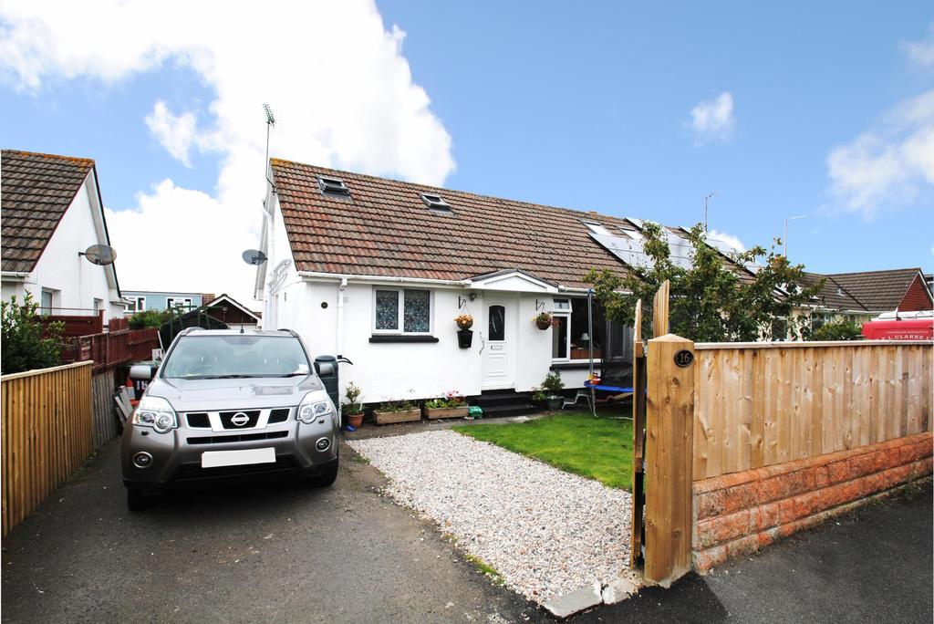 3 Bedrooms Semi Detached Bungalow for sale in Ballards Crescent, West Yelland