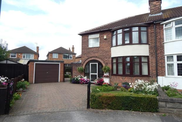 3 Bedrooms Semi Detached House for sale in West Holme Gardens, Beechdale, Nottingham, NG8
