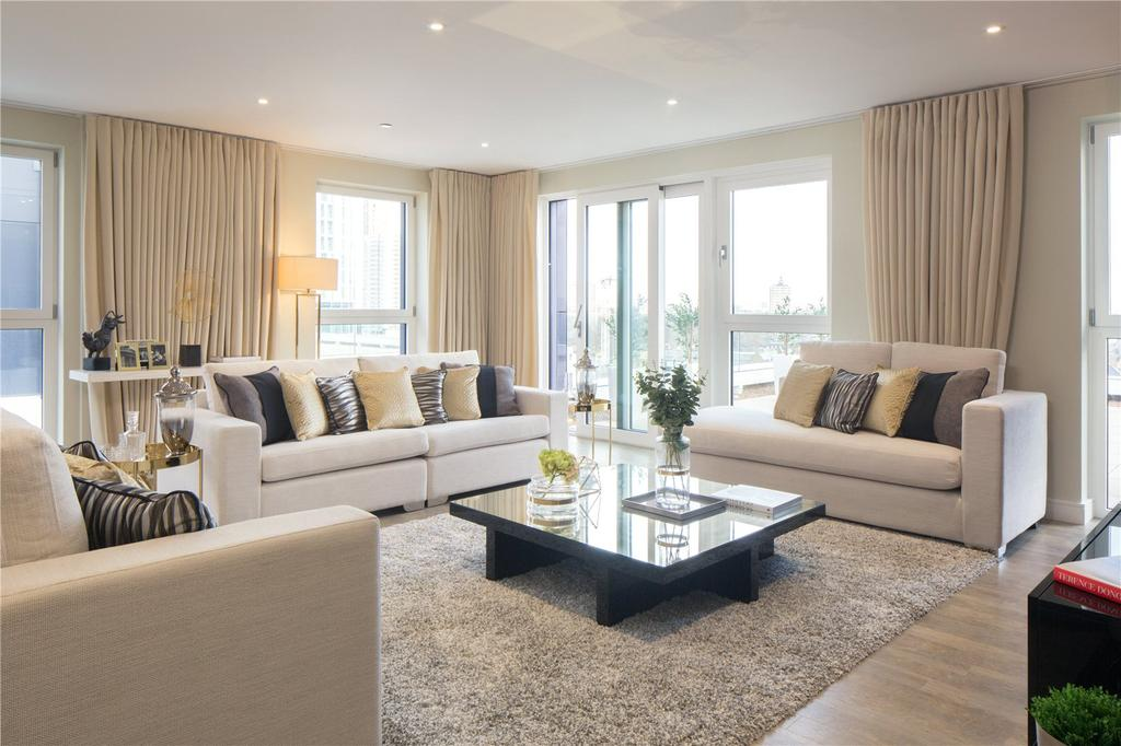 3 Bedrooms Apartment Flat for sale in Waterford Point, Nine Elms Point, SW8