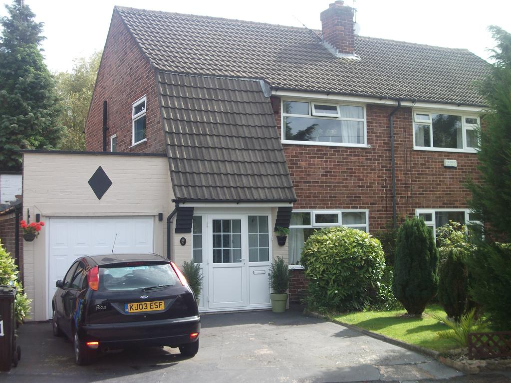 3 Bedrooms Semi Detached House for sale in Thornton Road, Heald Green, Cheadle, Cheshire SK8