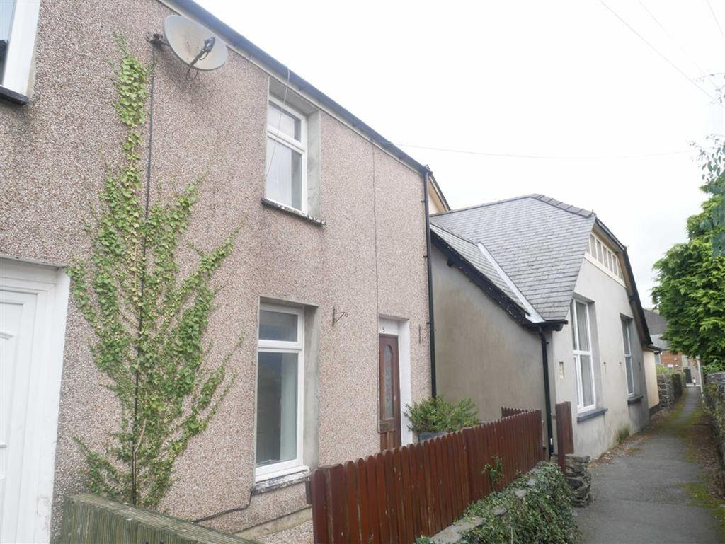 2 Bedrooms Terraced House for sale in Tanners Terrace, Porthmadog