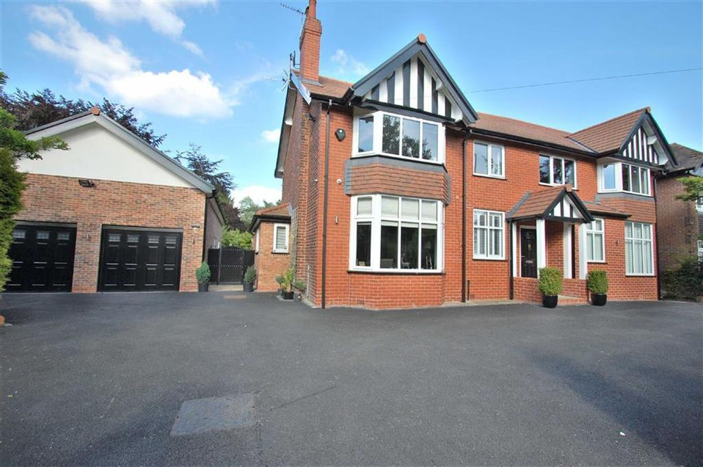 6 Bedrooms Detached House for sale in Woodford Road, Woodford, Cheshire