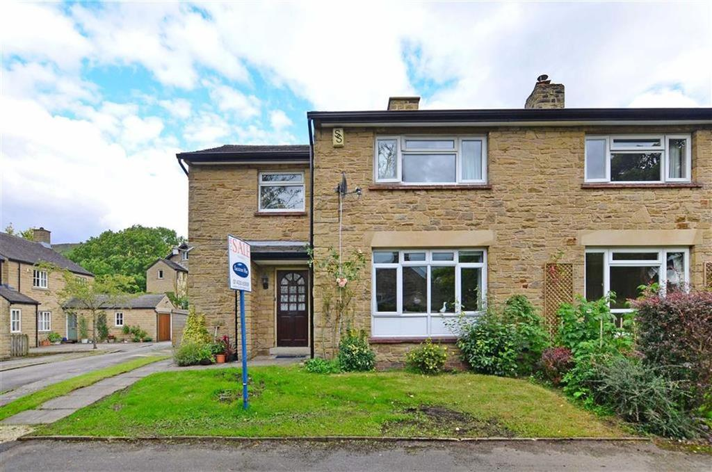 3 Bedrooms Semi Detached House for sale in 4, St Johns Close, Bamford Village, Hope Valley, Derbyshire, S33