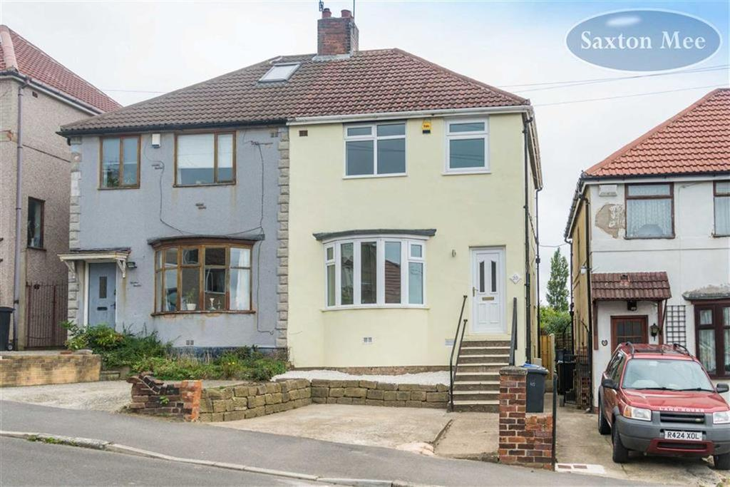 3 Bedrooms Semi Detached House for sale in Hillside Avenue, High Greave, Sheffield, S5