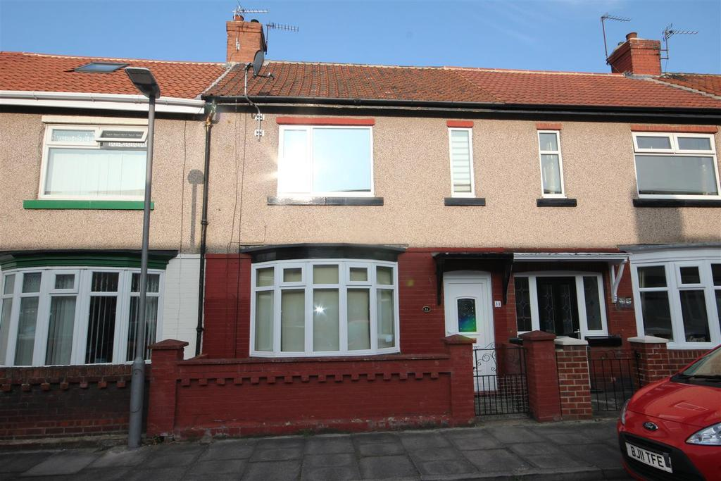 2 Bedrooms Terraced House for sale in Spring Garden Road, Hartlepool