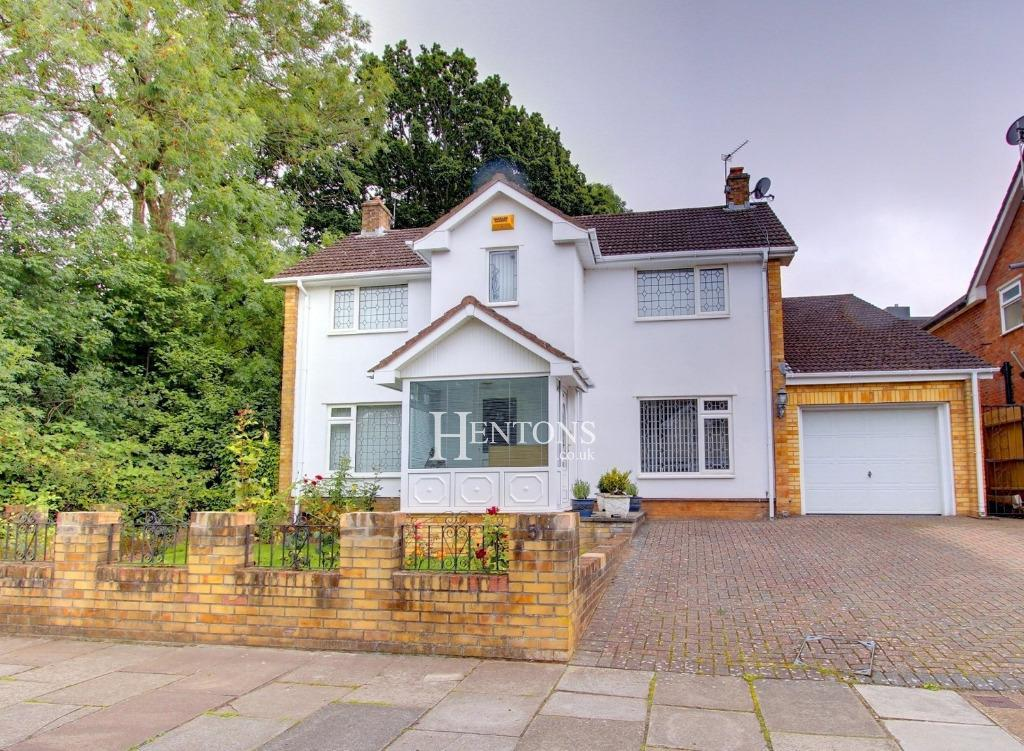 4 Bedrooms Detached House for sale in Lakeside Drive, Lakeside, Cardiff