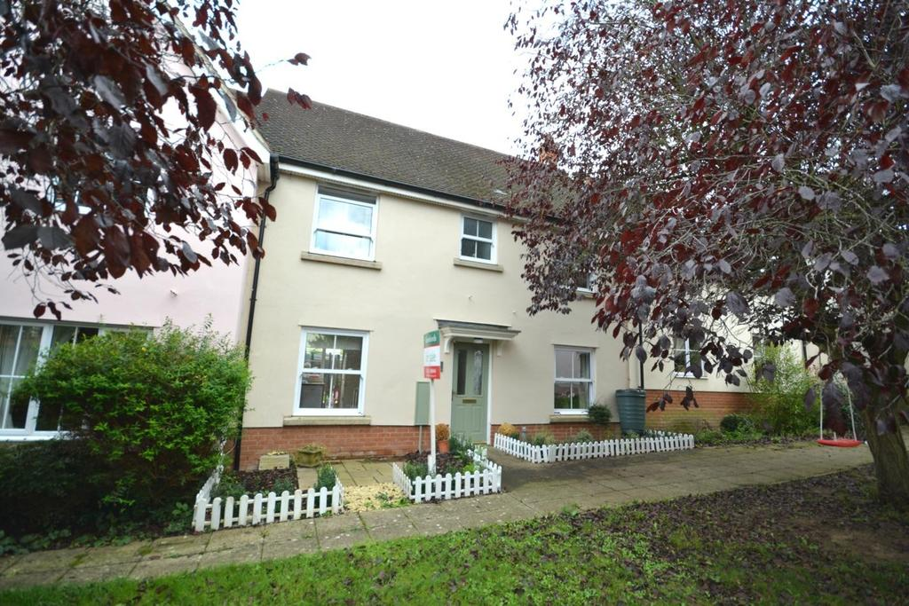 3 Bedrooms Terraced House for sale in Hadfield Drive, Black Notley, Braintree, Essex, CM77