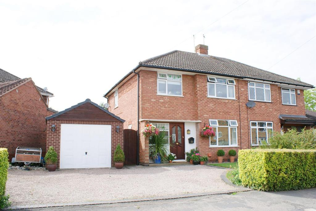3 Bedrooms Semi Detached House for sale in School Lane, Radford Semele, Leamington Spa