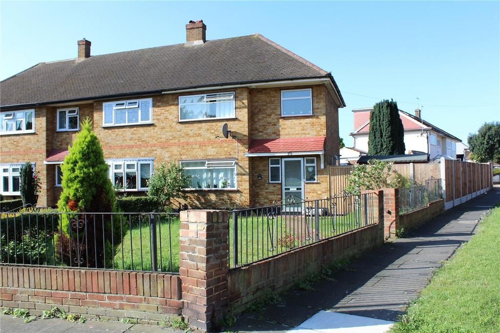 3 Bedrooms End Of Terrace House for sale in Trafalgar Road, Rainham, RM13