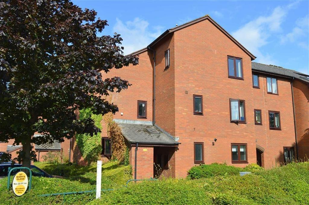 1 Bedroom Flat for sale in 22, St Marys Close, Newtown, Powys, SY16
