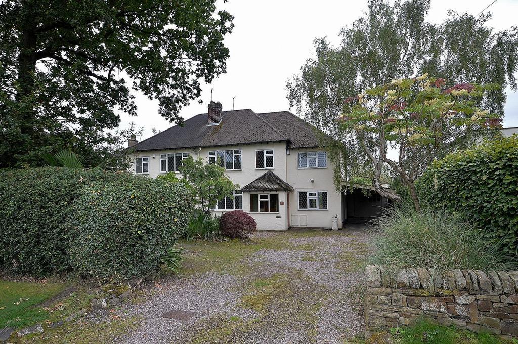 4 Bedrooms Semi Detached House for sale in 96 Hollins Lane, Marple Bridge, SK6