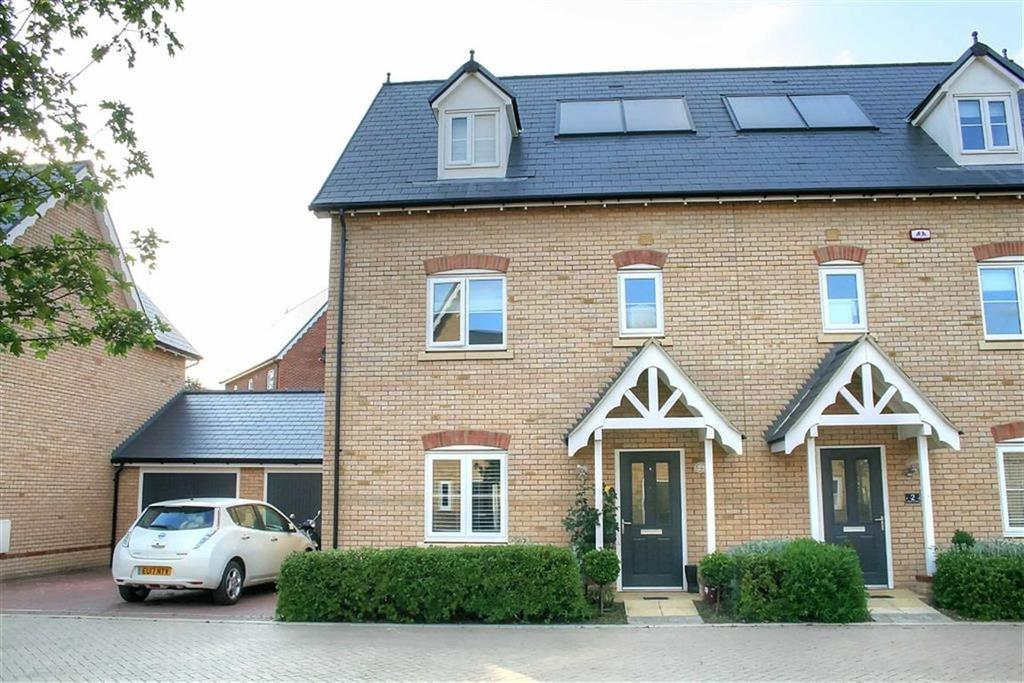 4 Bedrooms Semi Detached House for sale in Repton Gardens, Milton, Cambridge