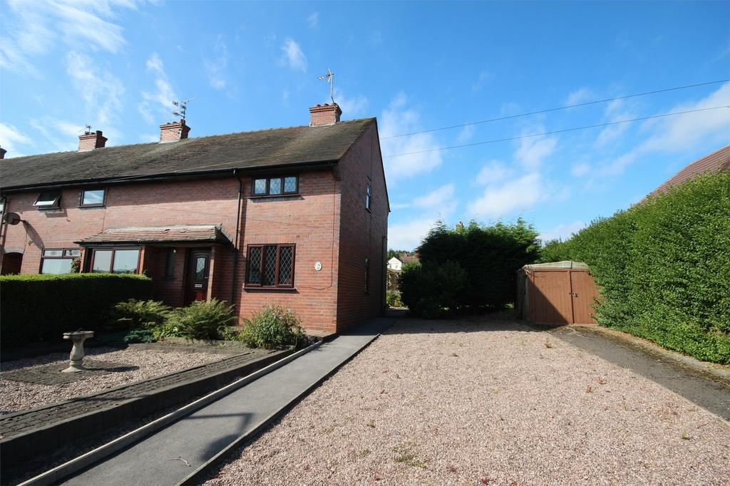 2 Bedrooms Semi Detached House for sale in Victory Crescent, Cheadle, Staffordshire