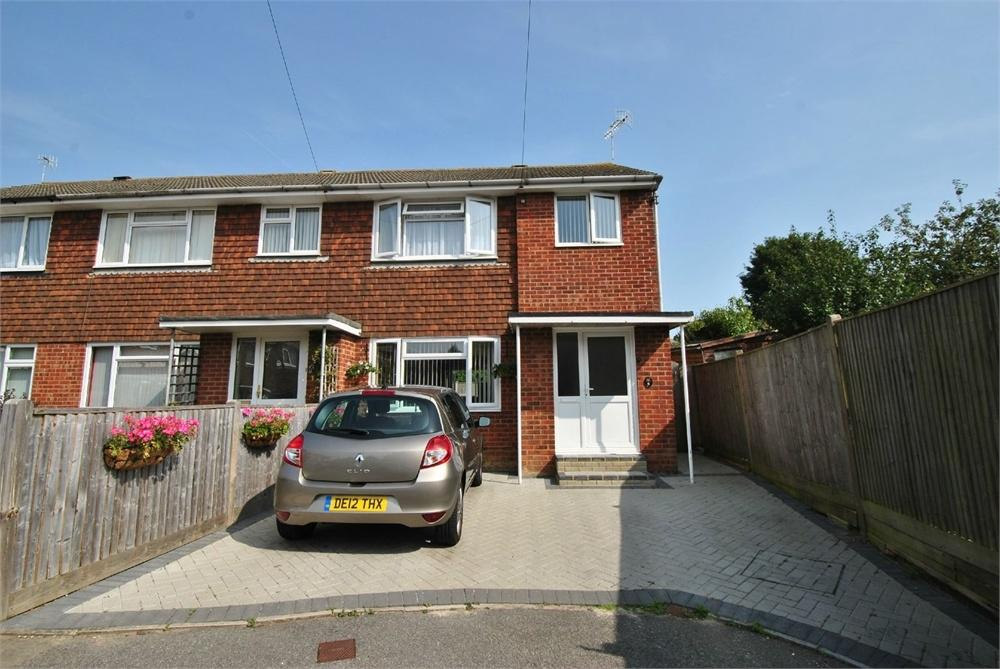 3 Bedrooms End Of Terrace House for sale in Plumpton Close, BEXHILL-ON-SEA, East Sussex