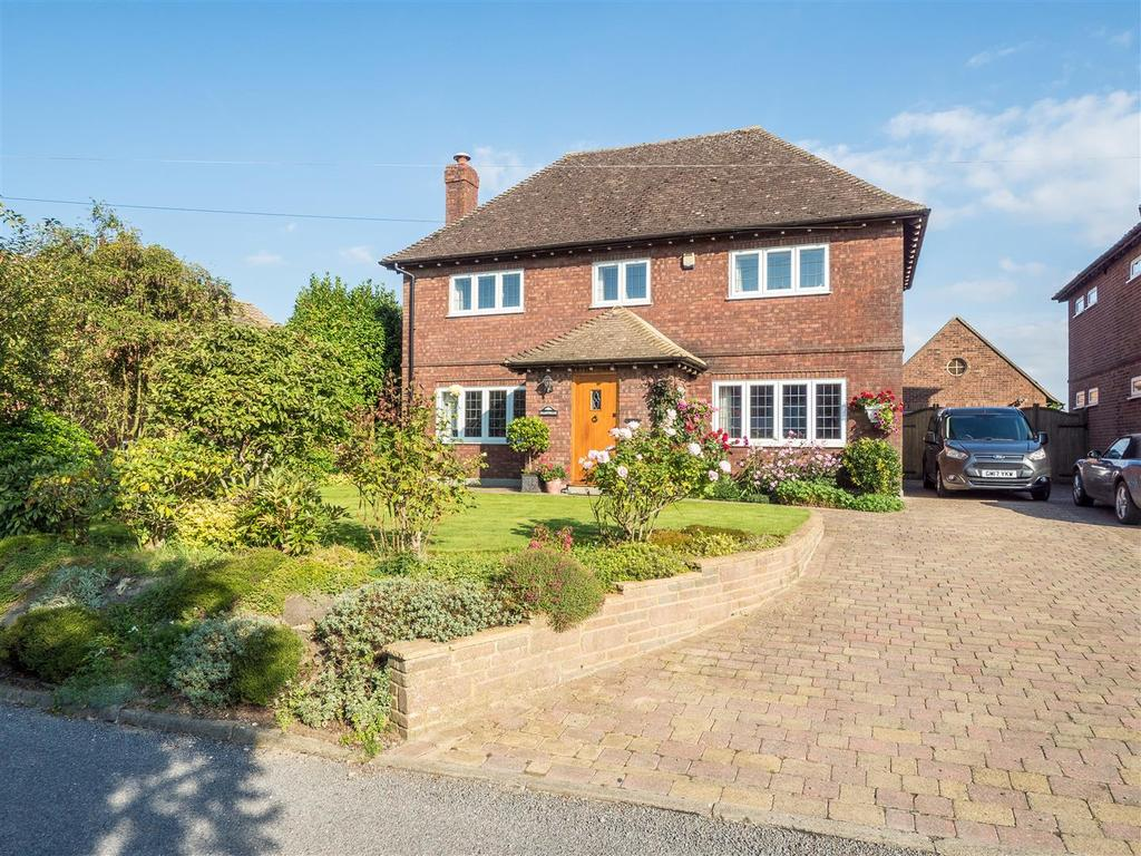 4 Bedrooms Detached House for sale in The Street, Wormshill