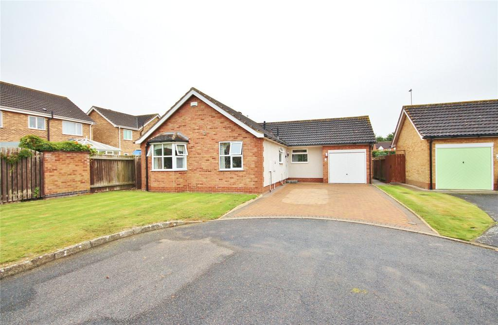 3 Bedrooms Detached Bungalow for sale in Lavender Close, Lincoln, LN5