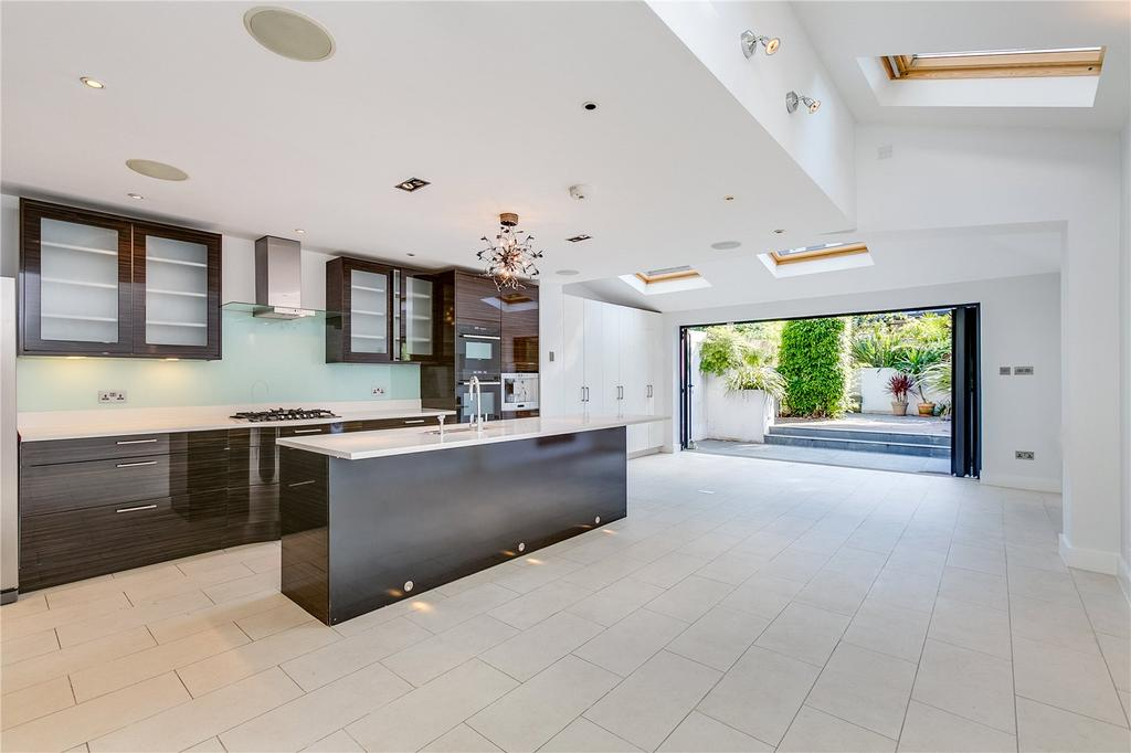 5 Bedrooms Terraced House for sale in Chelverton Road, Putney, London
