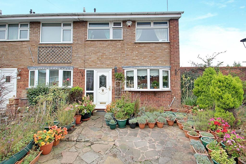 3 Bedrooms End Of Terrace House for sale in Hunnington Close, Bartley Green